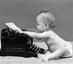 Baby-Typewriter